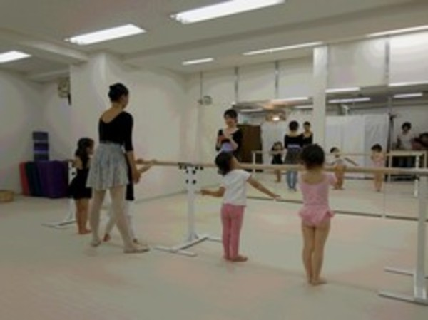 12月22日のバレエ&リトミッククラス